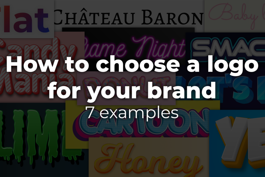 How to choose a logo for your brand: 7 examples